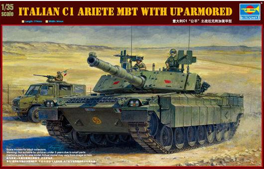 Trumpeter Models C1 Ariete MBT Boxart