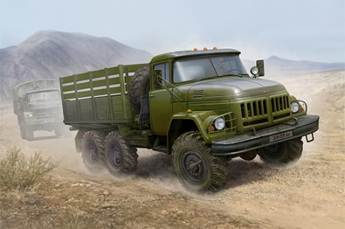 Russian Zil-131 Truck Box Art By Trumpeter Scale Model Kit