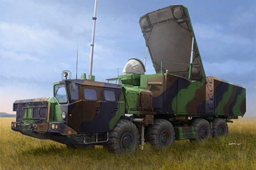 Russian 30N6E Flaplid Radar System 1/35 scale model kit Box Art by Trumpeter Models