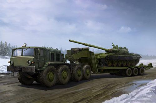 MAZ-537G Late w/ ChMZAP Semi-trailer