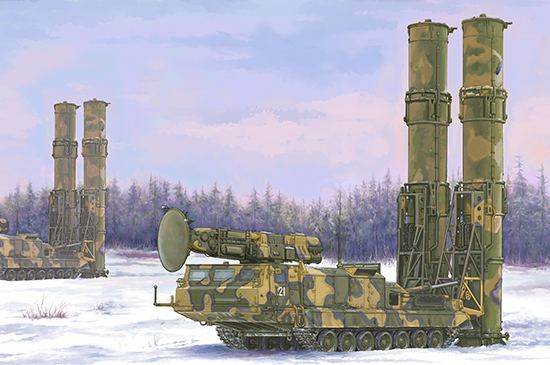Russian S-300V 9A82 Box Art