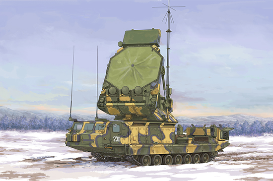 Russian 9S32 Radar Box Art