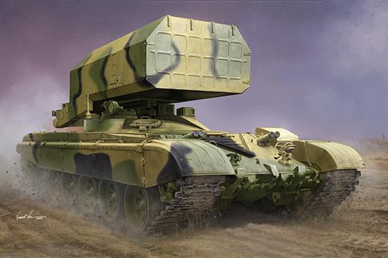 Russian TOS-1 Multiple Rocket Launcher Mod.1989 Box Art