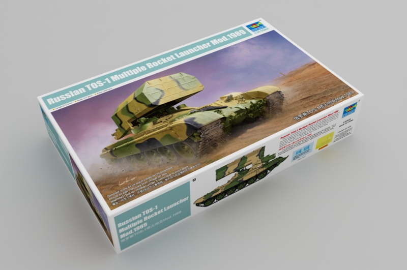 Russian TOS-1 Multiple Rocket Launcher Mod.1989 Box
