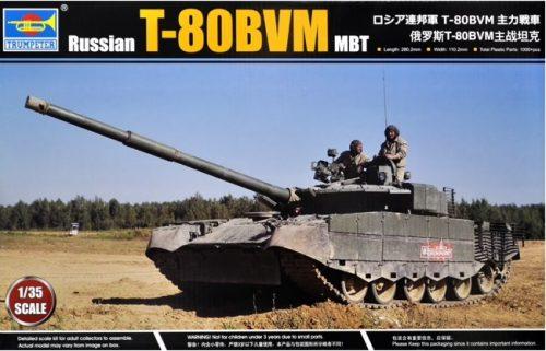 Russian T-80BVM Box Art