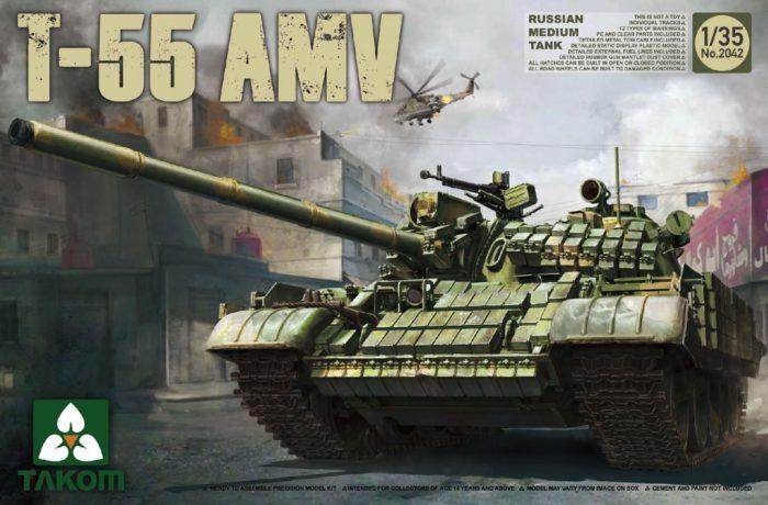 Russian T-55AMV