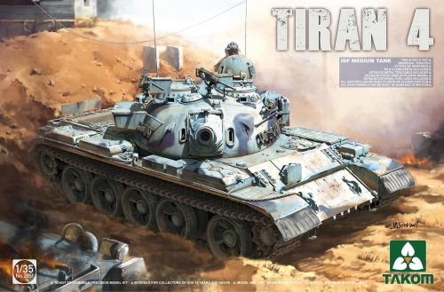 Tiran 4 IDF Medium Tank Box Art