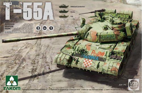 Russian T-55A Boxart