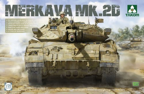 Merkava Mk.2D box art by Takom