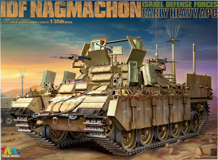 Tiger Model Nagmachon Early Box Art