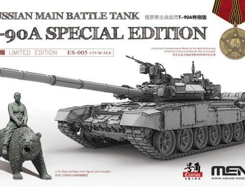 T-90A SPECIAL EDITION FROM MENG!