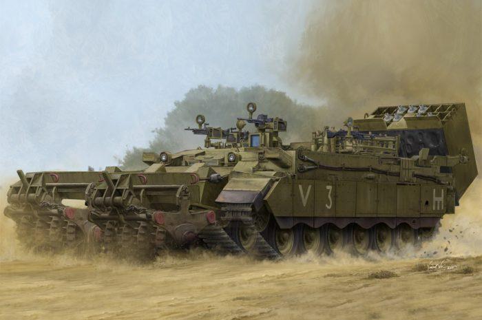 IDF Puma AEV Box Art By Hobby Boss