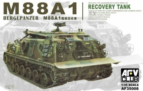 AFV Model's M88A1 Recovery Tank Box Art