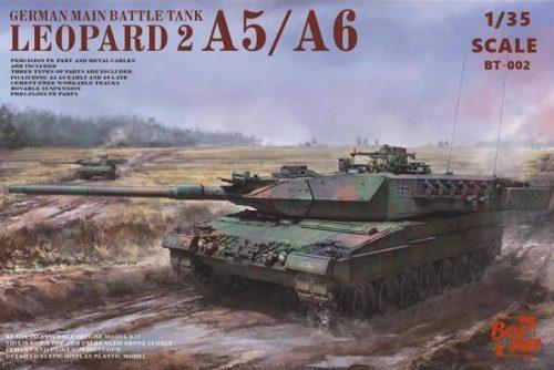 Leopard 2 A5/A6 MBT Box Art