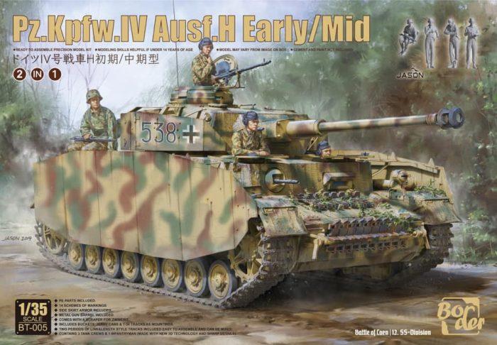 Panzer IV Ausf.G Box Art