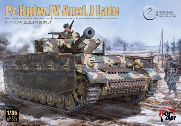 Panzer IV Ausf.J Last Box Art