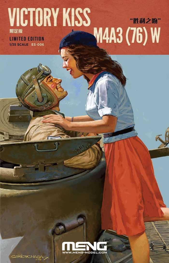 Victory Kiss Sherman Box Art