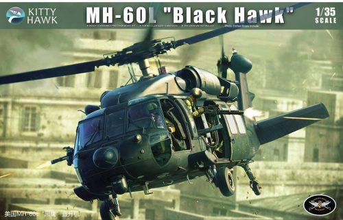 GH-60L Black Hawk Box Art By Kitty Hawk Scale Model Kit