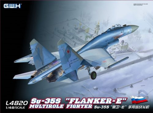 "Su-35S ""Flanker-E"" Box Art"