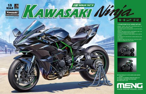Kawasaki H2R Ninja Box Art by Meng.