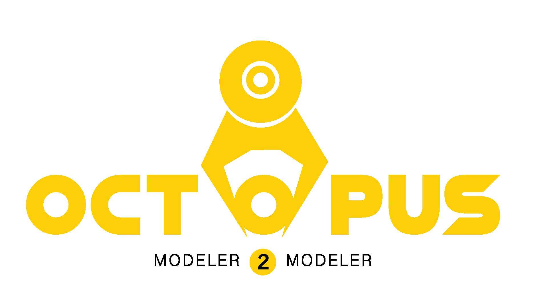 Octopus Scale Model Jig Logo