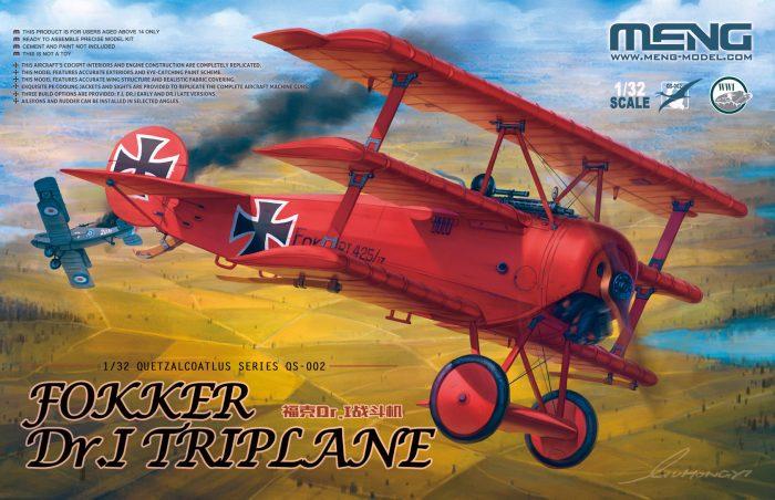 Fokker Dr.I Triplane Box Art