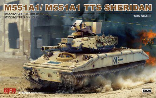 M551A-1/M551A1 TTS Sheridan Box Art By Ryefield Model