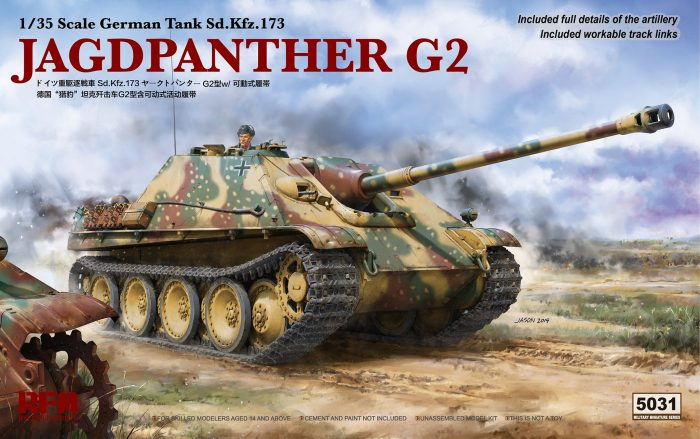 Jagdpanther G2 Box Art