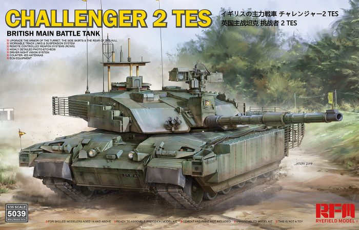 Challenger 2 TES Boxart by Ryefield Model