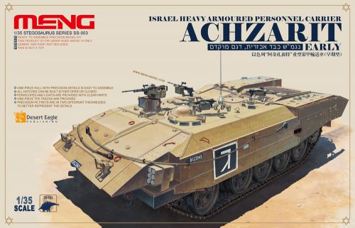 IDF Armoured Personnel Carrier Achzarit Early Box Art