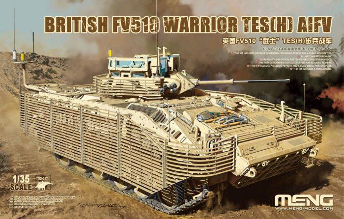 British FV510 Warrior TES(H) AIFV Box Art By Meng