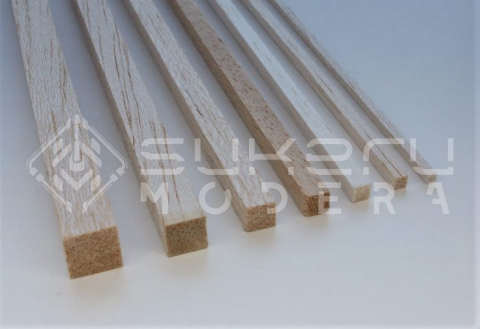 Square Balsa Rods Product Image