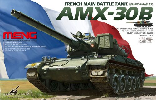 AMX-30 French MBT Box Art By Meng