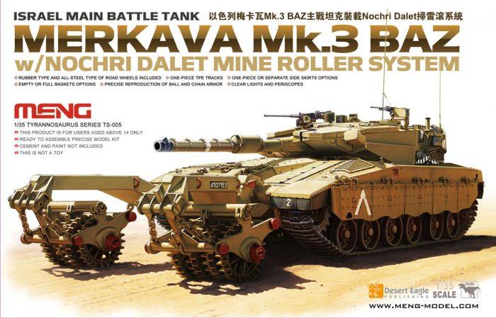 Merkava 3 BAZ Main Battle Tank Box Art