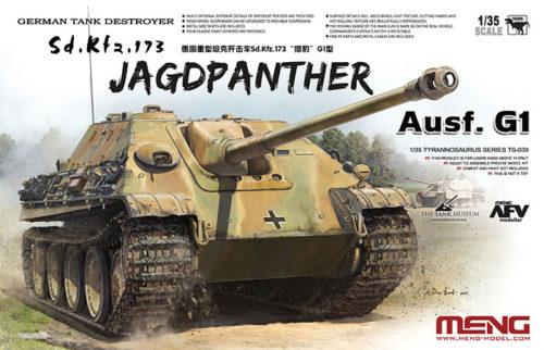 Jagdpanther G1 Tank Destroyer Boxart