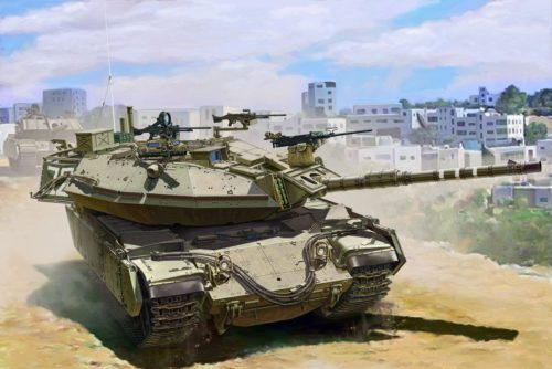 MAGACH 6B GAL Batash Main Battle Tank Box Art