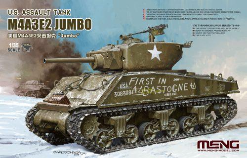 M4A3E2 Jumbo Box Art