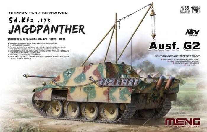 Jagdpanther G2 Tank Destroyer Boxart